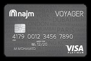 Najm - Voyager Platinum Credit Card