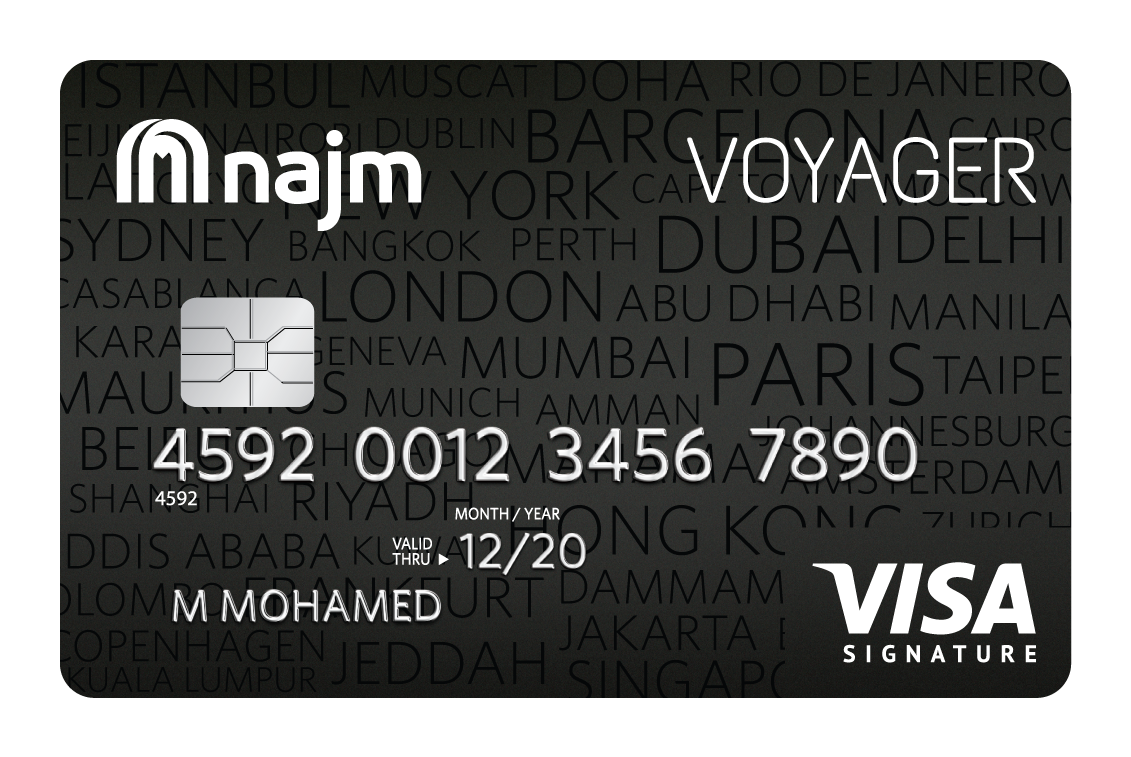 Najm - Voyager Signature Credit Card