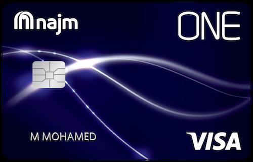 Najm - ONE Cashback Credit Card