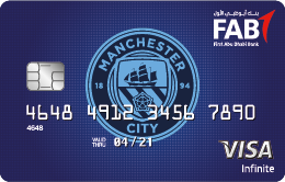 FAB - Manchester City Infinite Credit Card