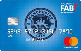 FAB - Manchester City Titanium Credit Card