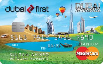 Dubai First - Dubai Moments Titanium Card