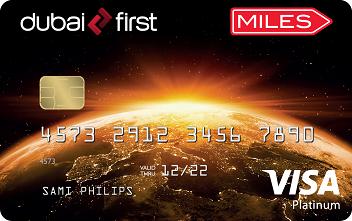DubaiFirst Miles Visa Platinum Card