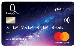 Finance House Platinum Credit Card
