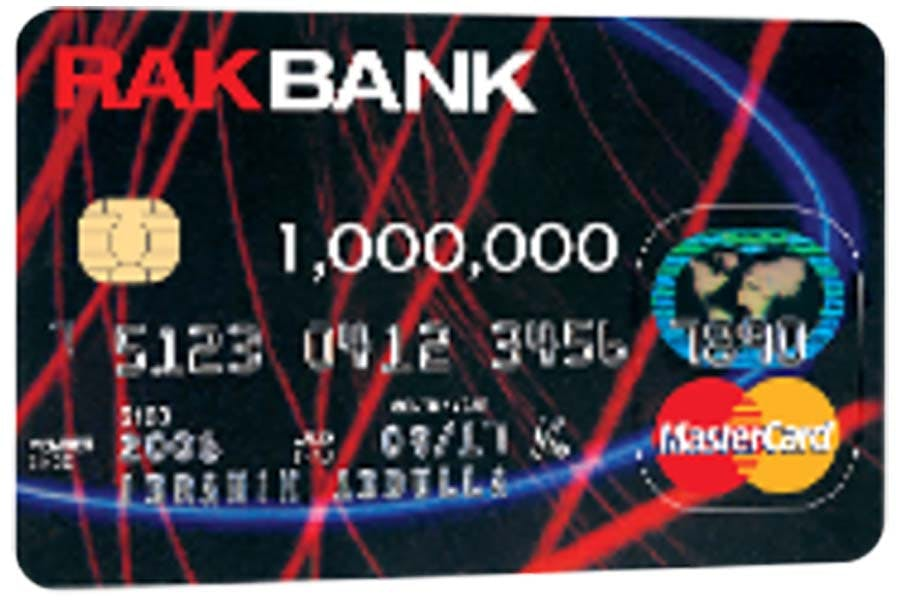 RAK Bank - MasterCard Credit Card