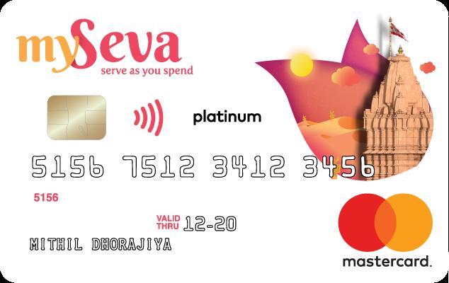 MySeva Credit Card