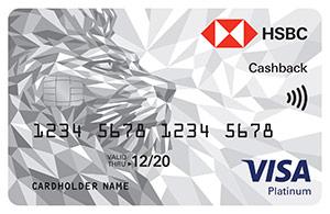 HSBC - Cashback Credit Card