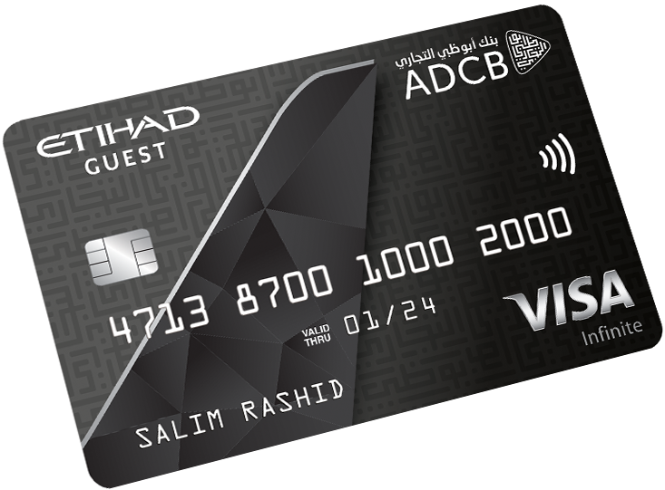 ADCB - Etihad Guest Infinite Credit Card