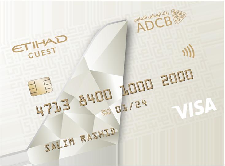ADCB - Etihad Guest Platinum Credit Card