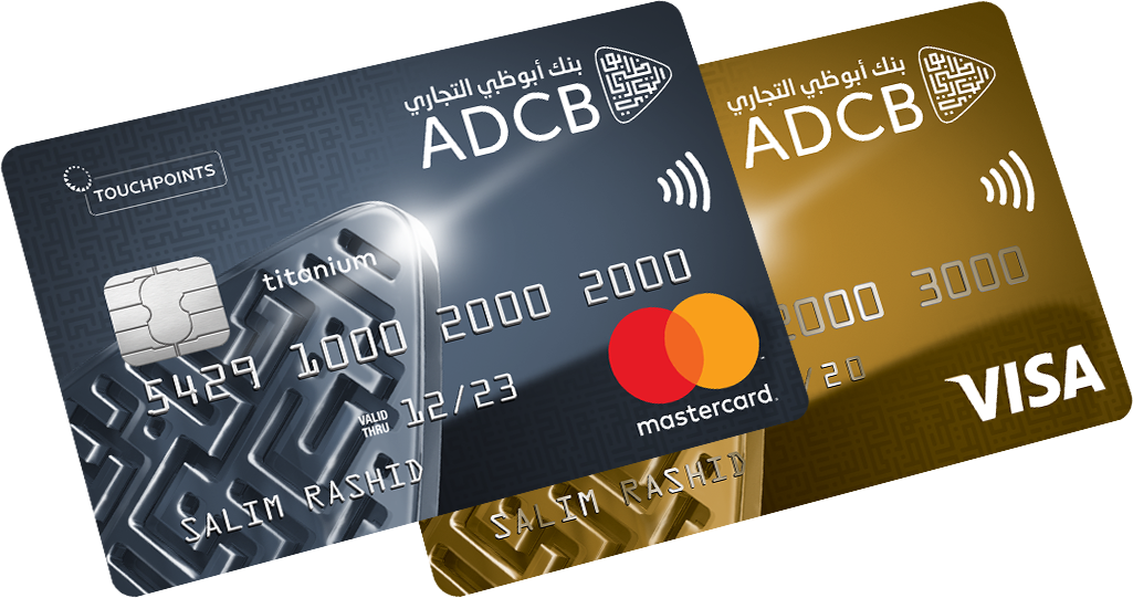 ADCB - TouchPoints Titanium and Gold Credit Card
