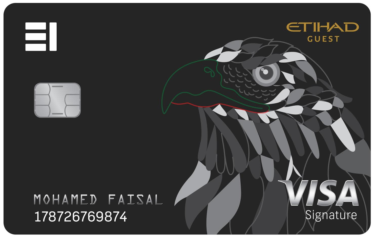 Emirates Islamic - Etihad Guest Saqer Credit Card