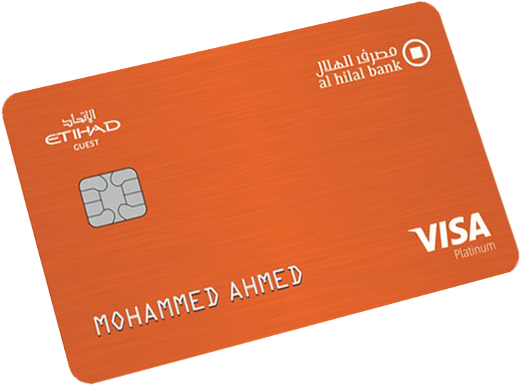 Al Hilal - Bank Etihad Guest Platinum Credit Card