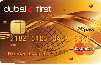 Dubai First - Cashback Mastercard Gold