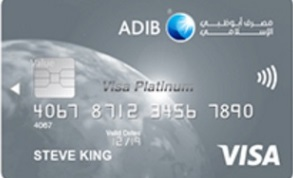 ADIB - Cashback Visa Platinum Card