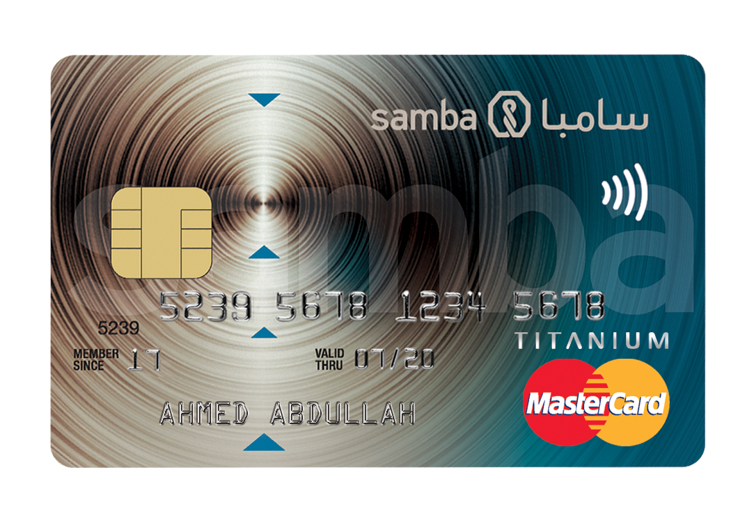 Samba - Supercharged Titanium Credit Card
