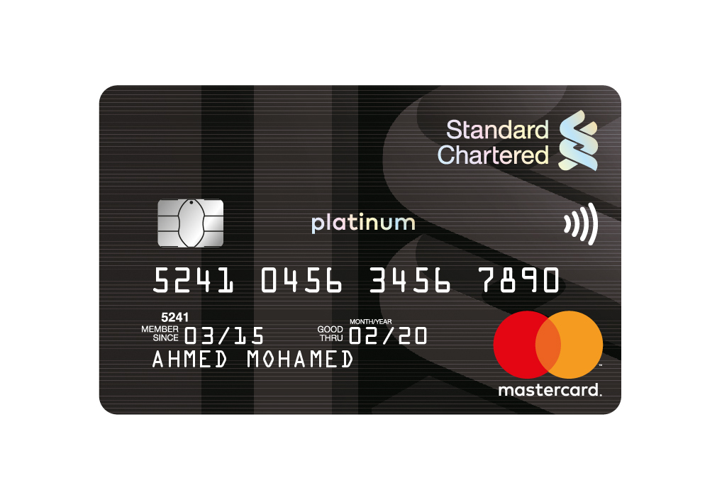 Standard Chartered Bank - Platinum Credit Card
