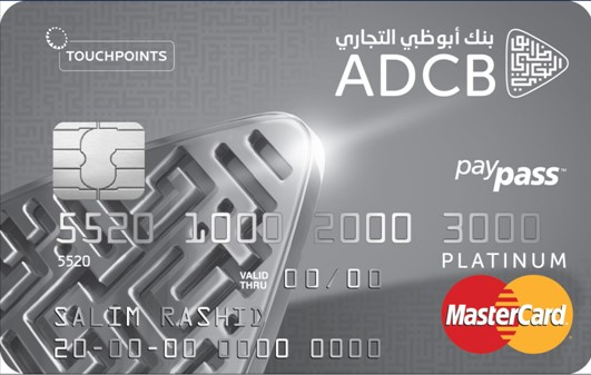 ADCB - TouchPoints Platinum Credit Card