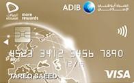 ADIB - Etisalat Gold Card
