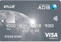 ADIB - Value Card