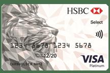 HSBC - Visa Platinum Select Credit Card