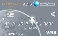 ADIB - Etihad Guest Visa Platinum Card