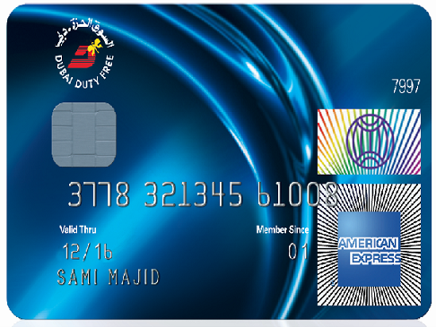 The American Express - Dubai Duty Free  Card