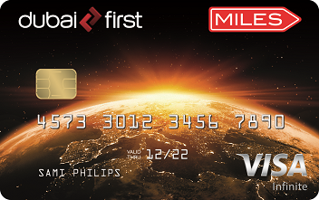DubaiFirst Miles Visa Infinite Card