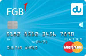 FAB - du Platinum Credit Card