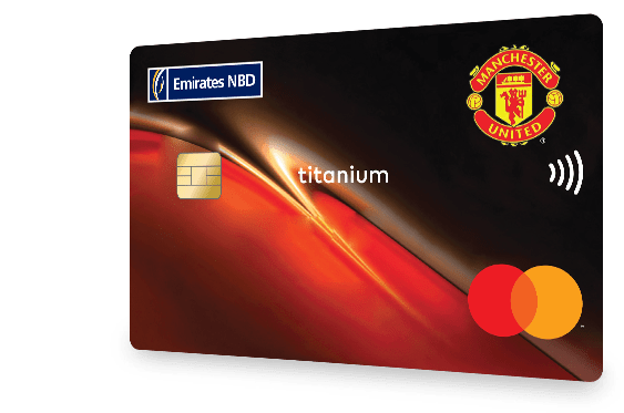 Emirates NBD - Man Utd Credit Card
