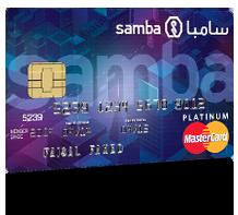 Samba - MasterCard Platinum Shopping Credit Card