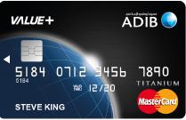ADIB - Value+Card