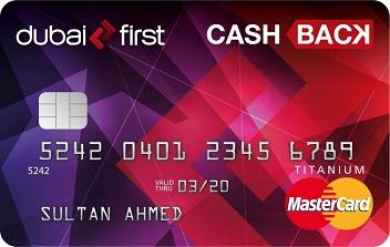 Dubai first - Cashback Card