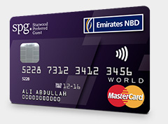 Emirates NBD Starwood Preferred Guest World Mastercard