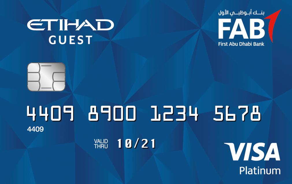 FAB - Etihad Guest Platinum Credit Card